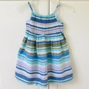 ✨3 for $30✨ NEW Blue, Lilac & White Striped Dress